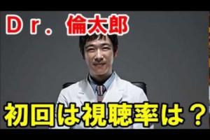 堺雅人主演、中園ミホ氏脚本「Dr.倫太郎」初回は13・9%