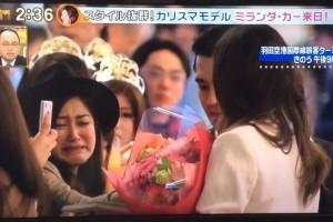 【来日】ミランダ・カー美しさの秘密1