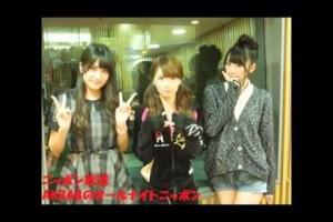 入山杏奈/松井咲子/菊地あやかが2013FNS歌謡祭のAKB×三谷幸喜コラボ�