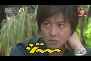 北川景子が木村拓哉に見つめられて…… 【月の恋人】 NG