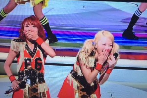 E-girls COLORFUL LAND ayaちゃんがAmiちゃんにKiss‼️