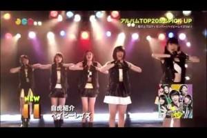 JAPANCOUNTDOWN アルバムチャート(ベイビーレイズ「自虎紹介」)