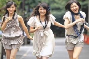 Perfumeが応援!大本彩乃、樫野有香、西脇綾香が「頑張って!!!」