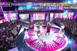 【UTAGE12/08】⑤恋人がサンタクロース(松任谷由実)/Aya(E-girls)&Flower