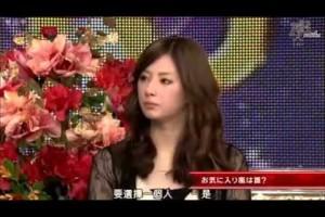 ひみつの嵐ちゃん!VIP ROOM 北川景子 人体模特 2010年3月10日